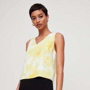 🌼 Babaton Murphy blouse in yellow + white
